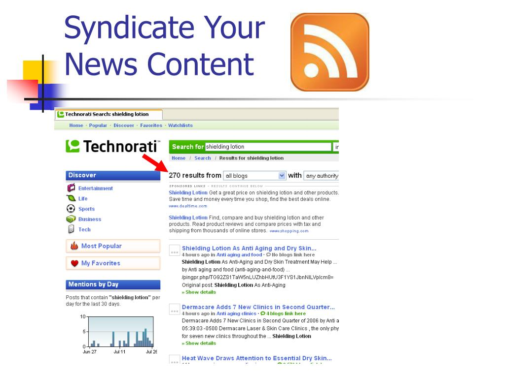 Syndicate Your