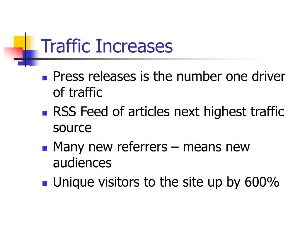 Traffic Increases