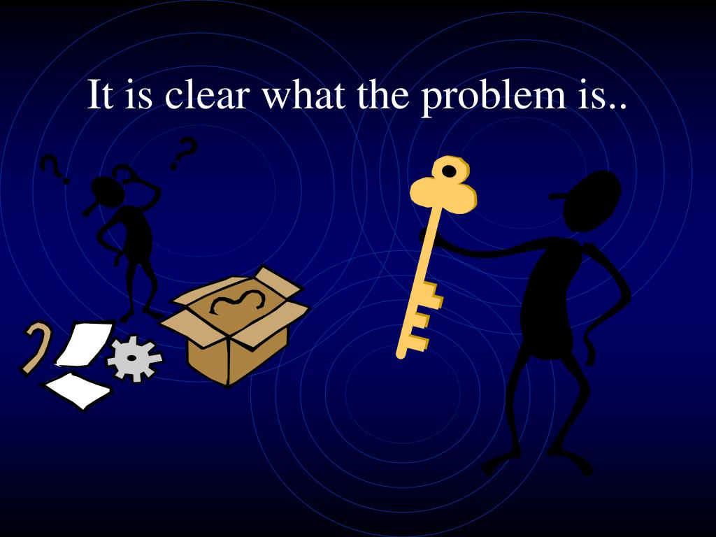 It is clear what the problem is..