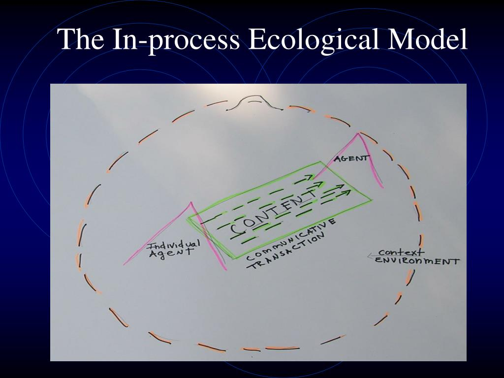 The In-process Ecological Model