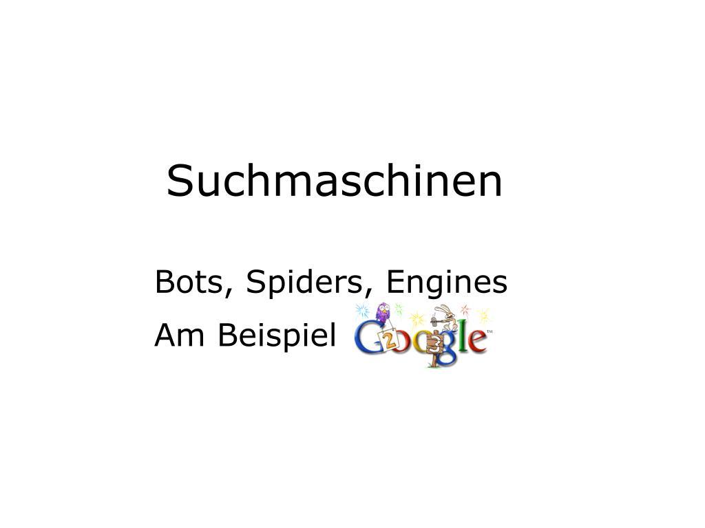 suchmaschinen l.