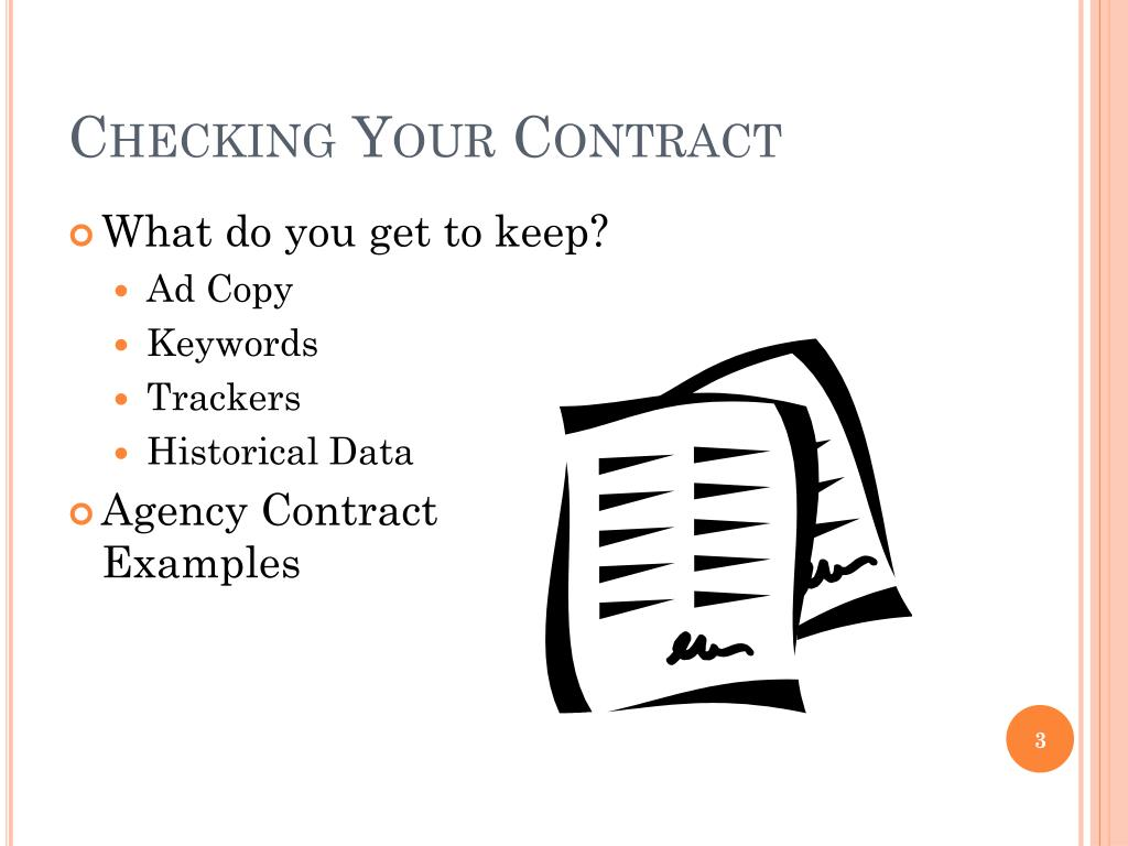 Checking Your Contract