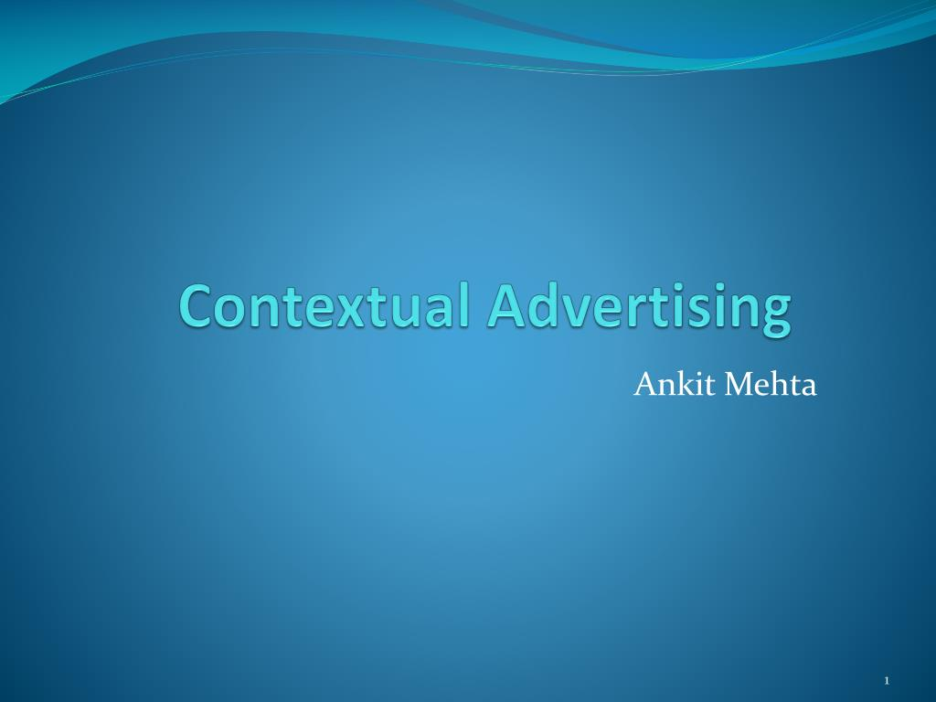 contextual advertising l.