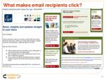 what makes email recipients click
