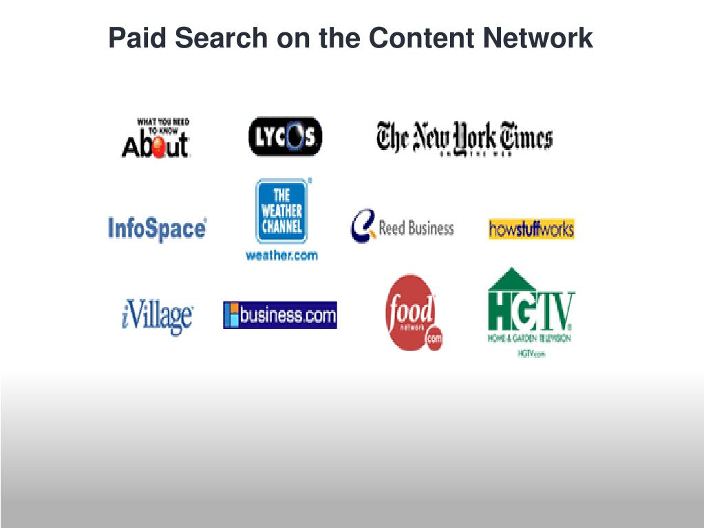 Paid Search on the Content Network