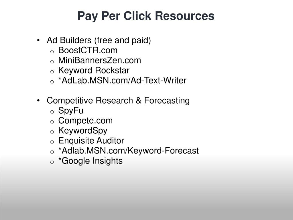 Ad Builders (free and paid)