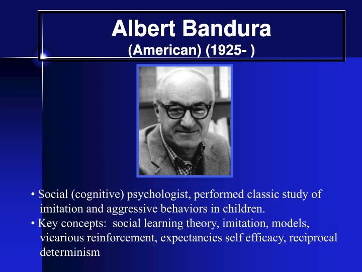 albert bandura social cognitive learning theories essay
