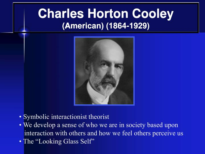 charles cooley sociological contributions Charles cooley sociological contributions charles cooley charles horton cooley (august 17, 1864 – may 8, 1929) was an american sociologist and the son of thomas m cooleyhe studied and went on to teach economics and sociology at the university of michigan, and he was a founding member and the eighth president of the american sociological.
