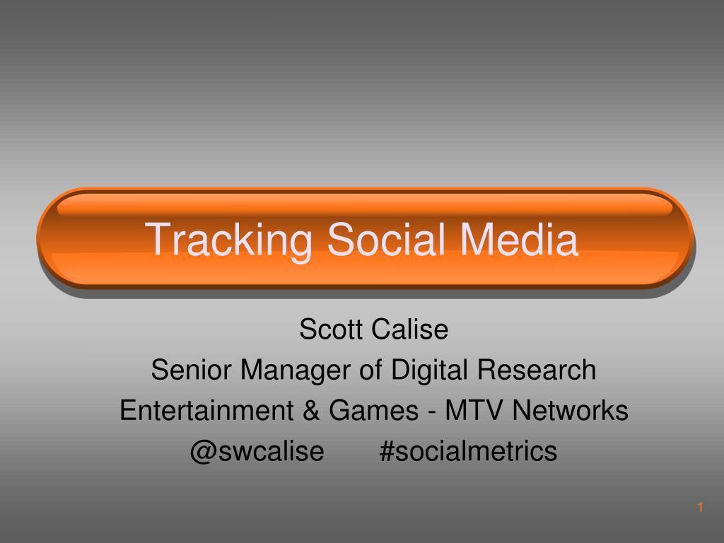 tracking social media l.