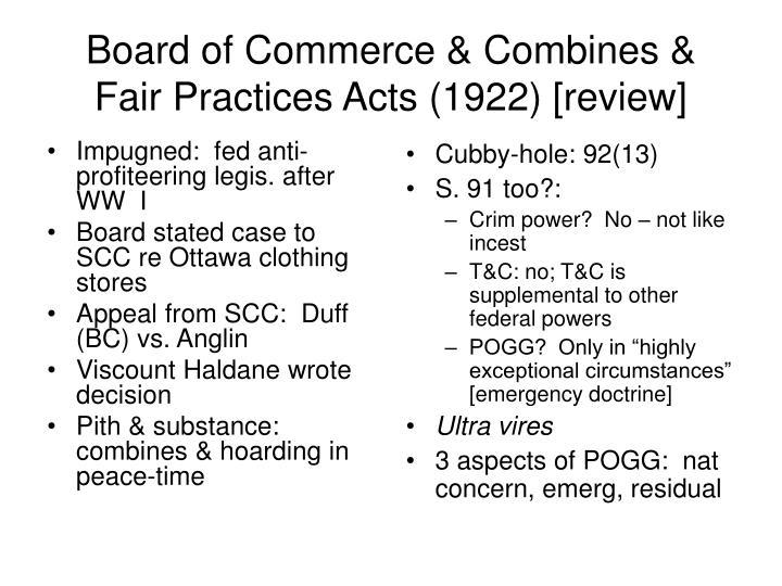 Impugned:  fed anti-profiteering legis. after WW  I