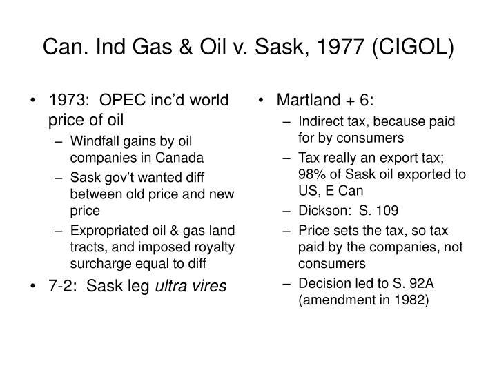 1973:  OPEC inc'd world price of oil