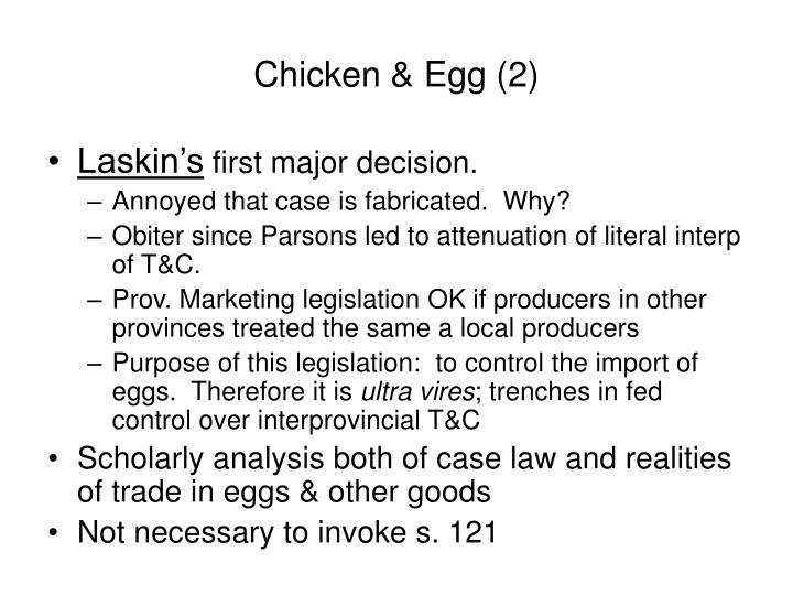 Chicken & Egg (2)