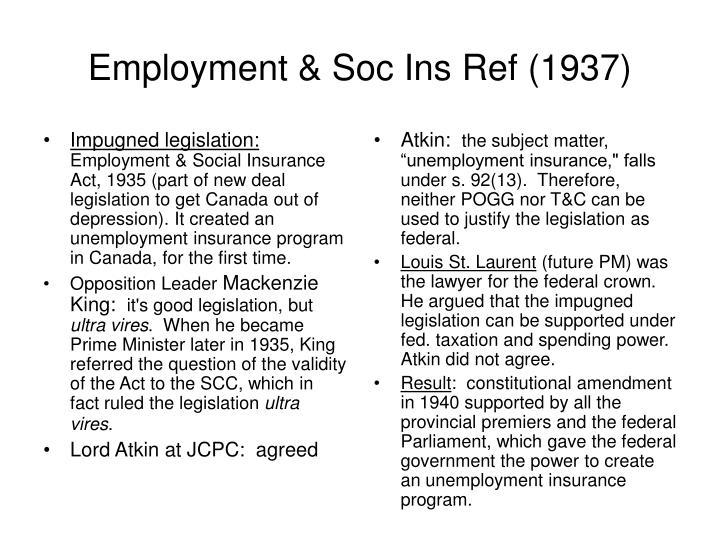 Impugned legislation: