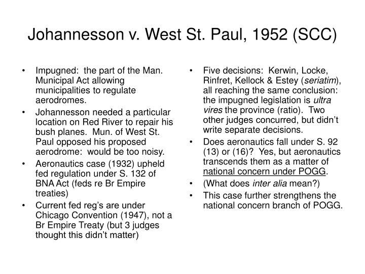 Impugned:  the part of the Man. Municipal Act allowing municipalities to regulate aerodromes.