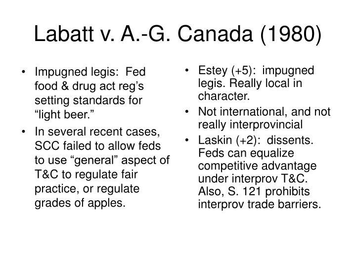 "Impugned legis:  Fed food & drug act reg's setting standards for ""light beer."""