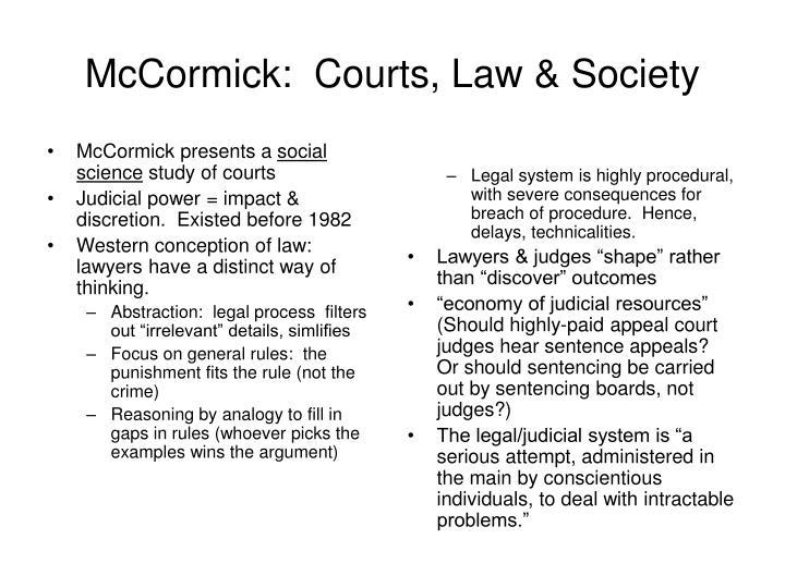 McCormick presents a