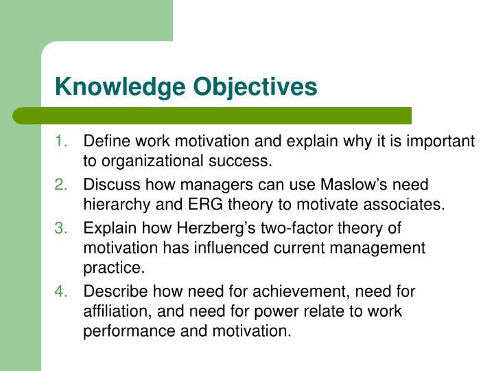 define work motivation