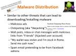 malware distribution