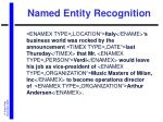named entity recognition14