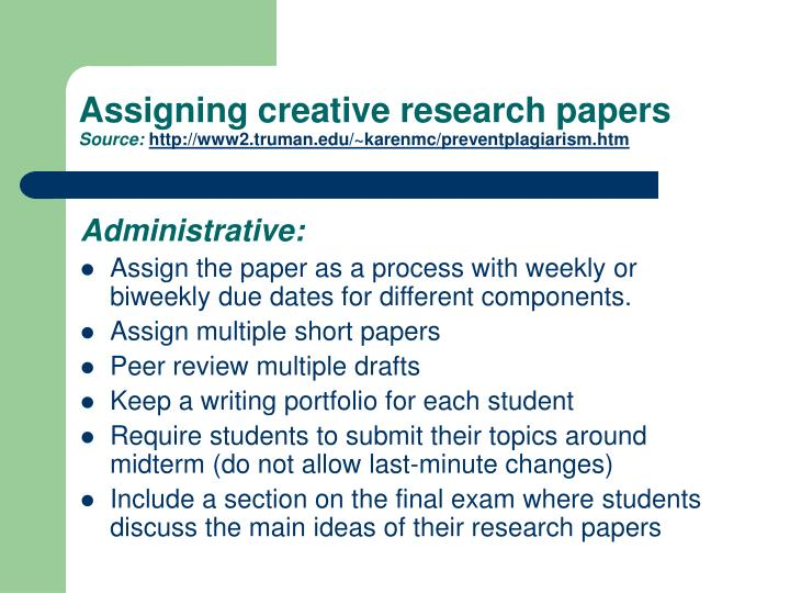 creative research paper Writing a research paper is among the most challenging aspects of student life during the latter part of high school and throughout college, you will be required to write several of these types of papers.