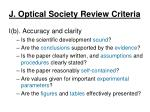 j optical society review criteria1