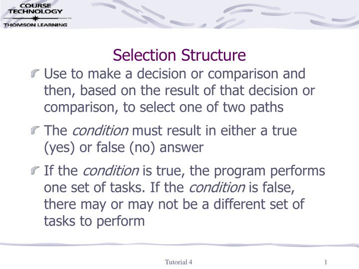 selection structure n.