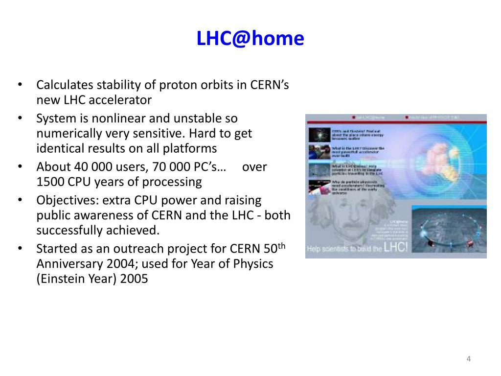 LHC@home
