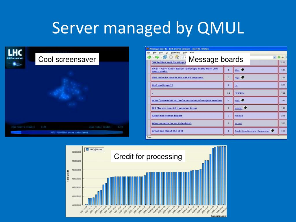Server managed by QMUL