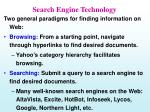 search engine technology