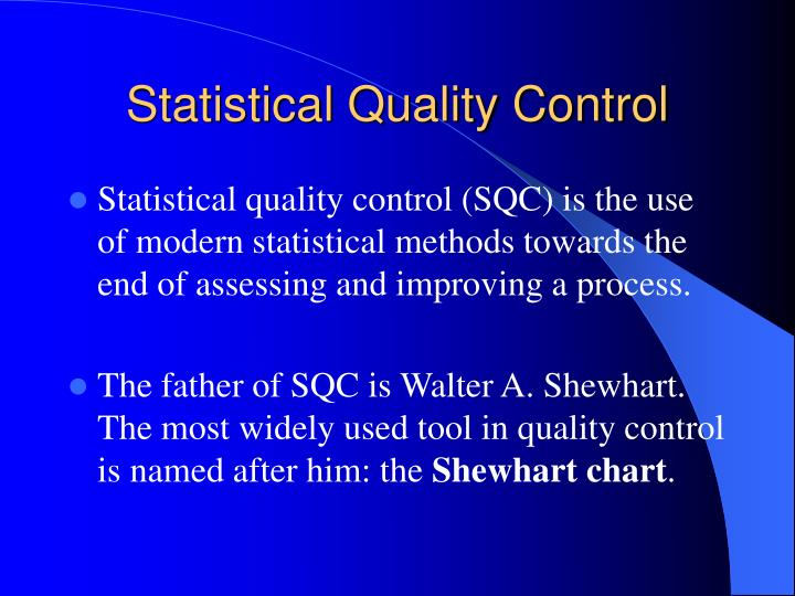 statistical quality control Practice statistical quality control questions and answers for interviews, campus placements, online tests, aptitude tests, quizzes and competitive exams.