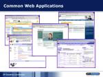 common web applications