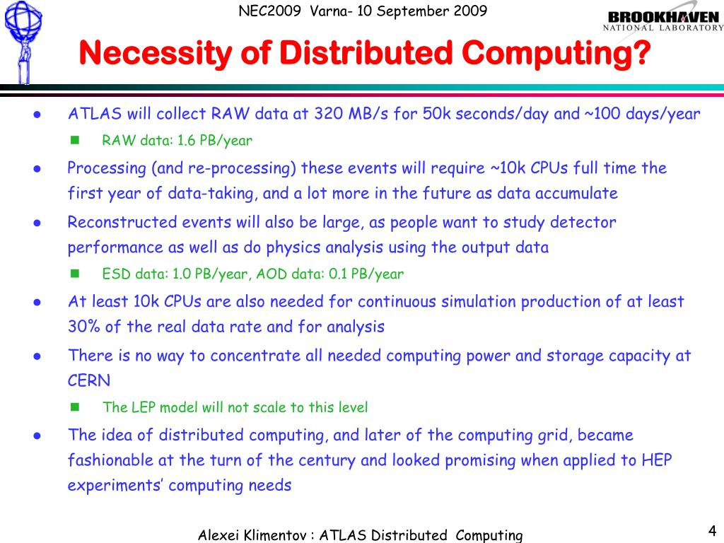 Necessity of Distributed Computing?