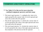 combined assignment operators4