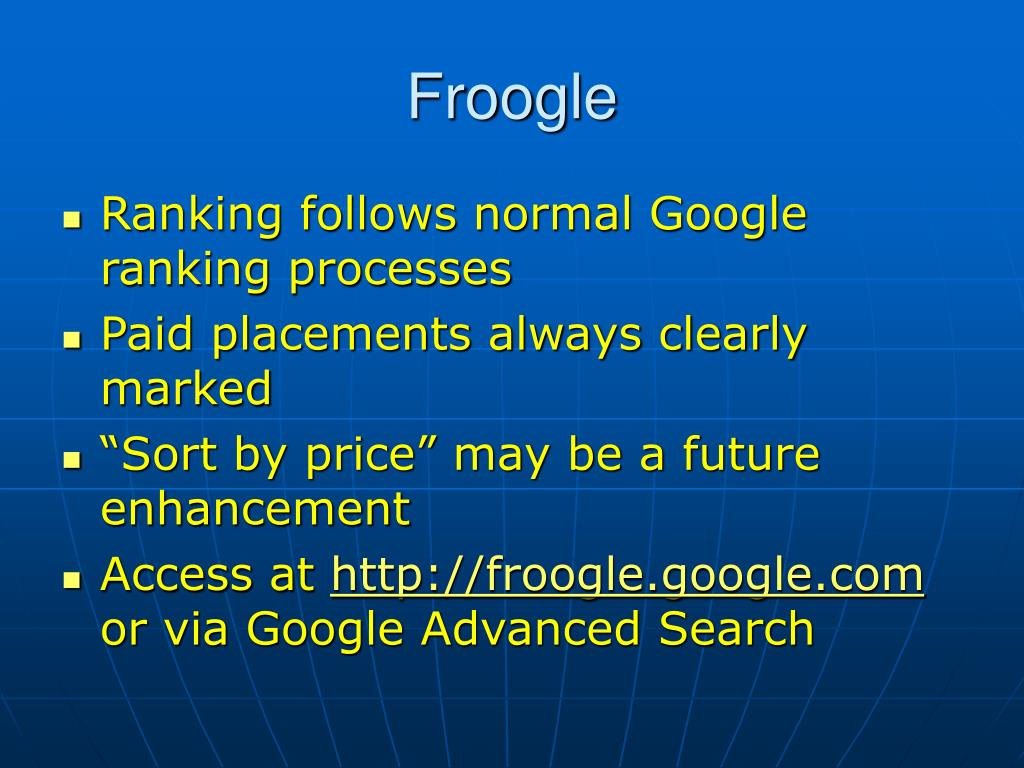Froogle
