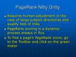 pagerank nitty gritty40