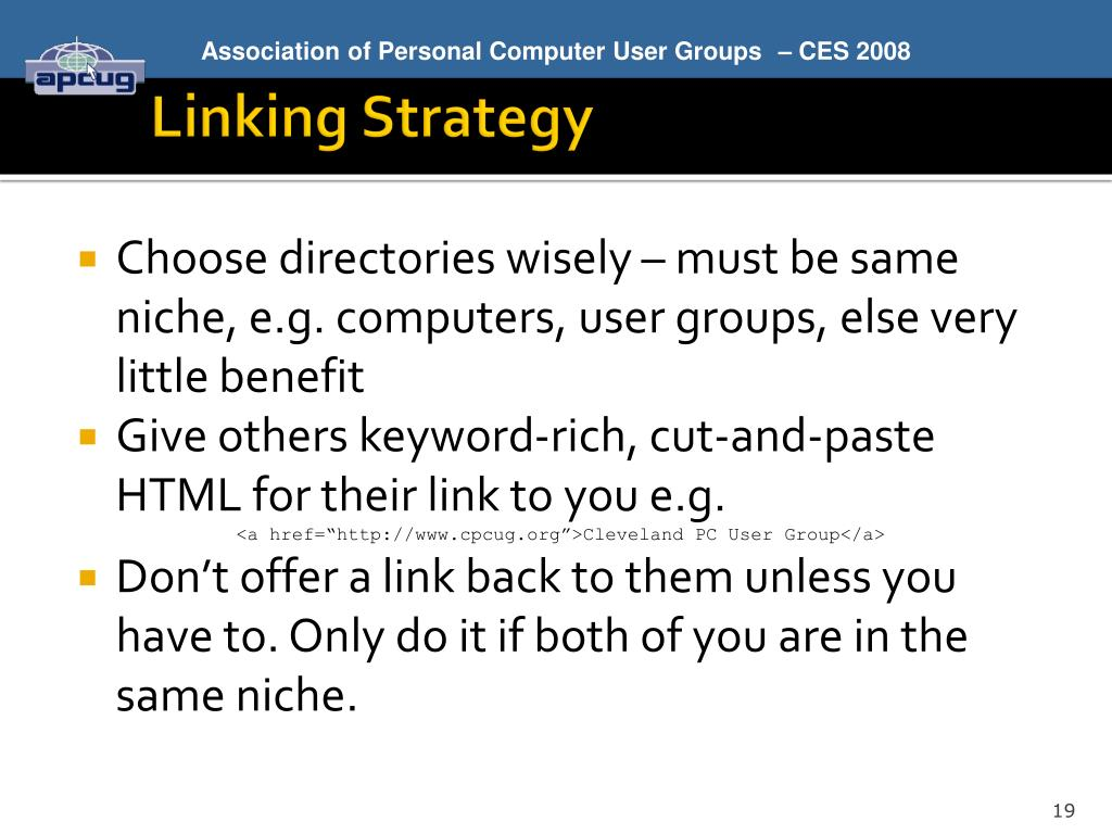 Linking Strategy