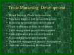 trade marketing development