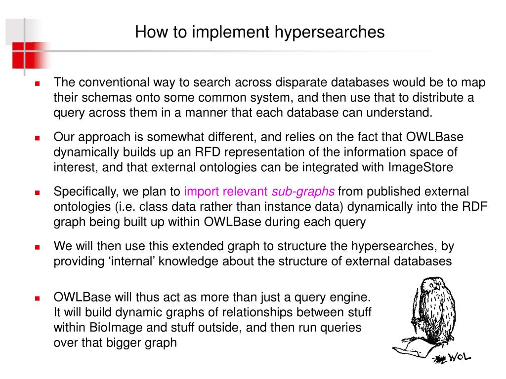How to implement hypersearches