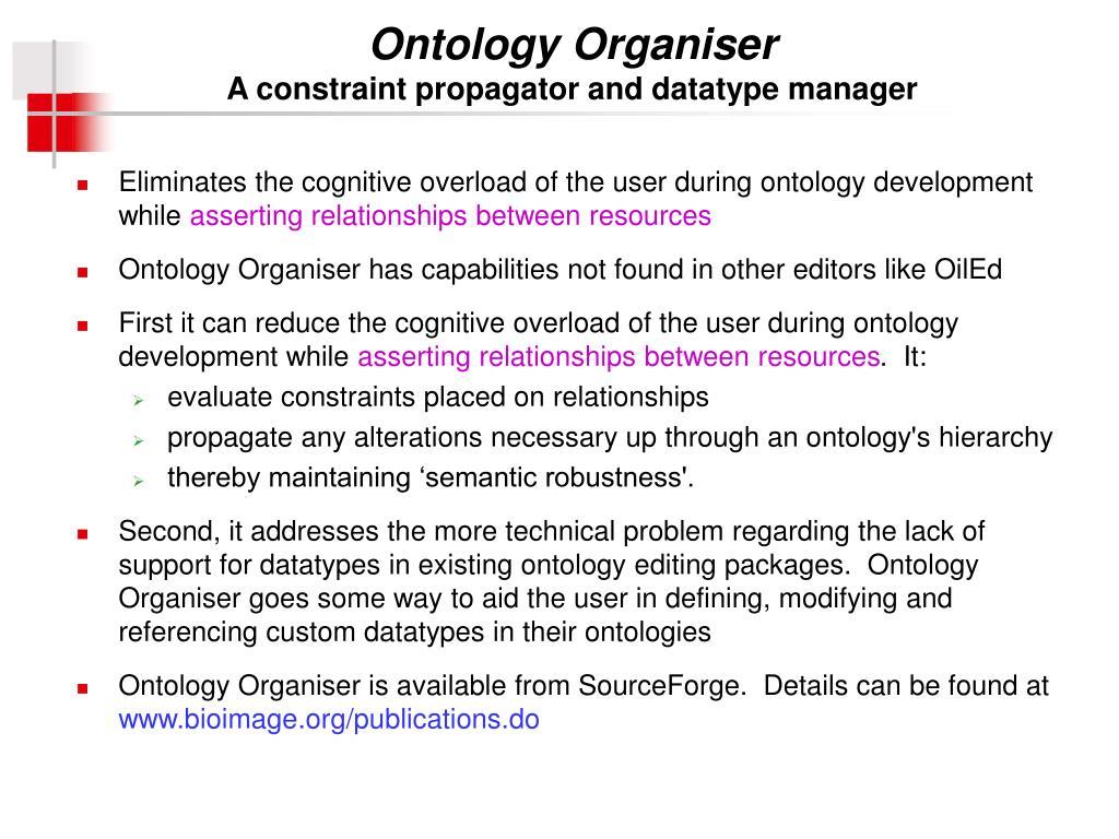 Ontology Organiser