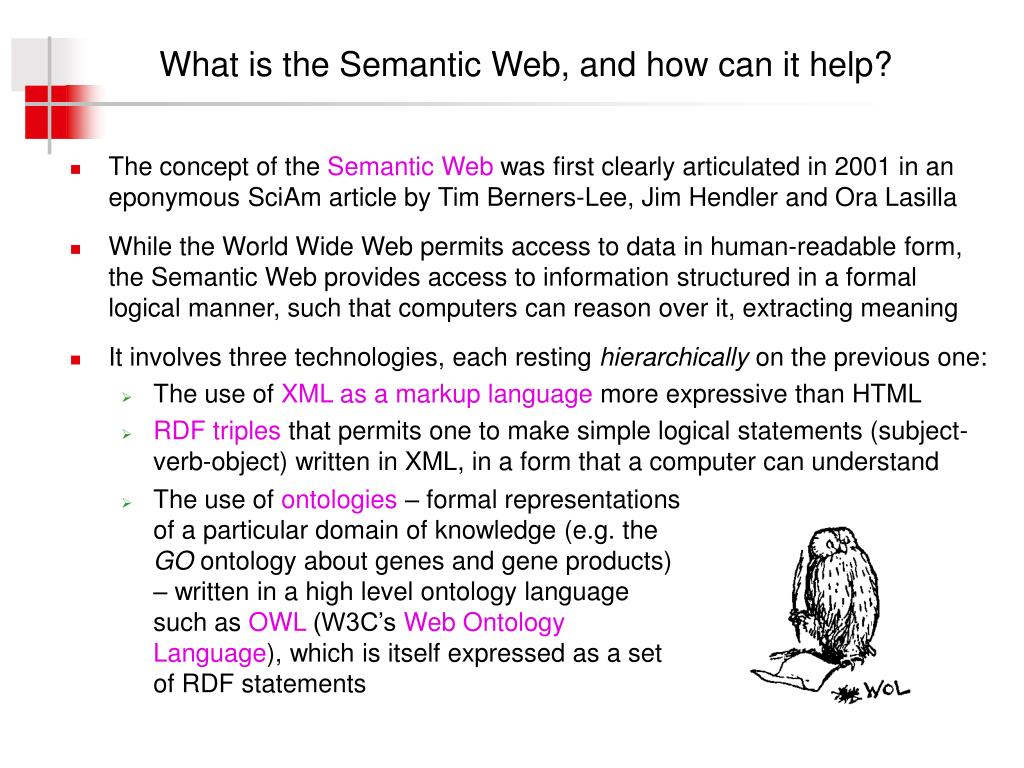 What is the Semantic Web, and how can it help?