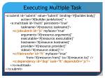 executing multiple task