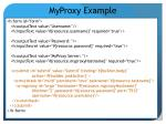 myproxy example
