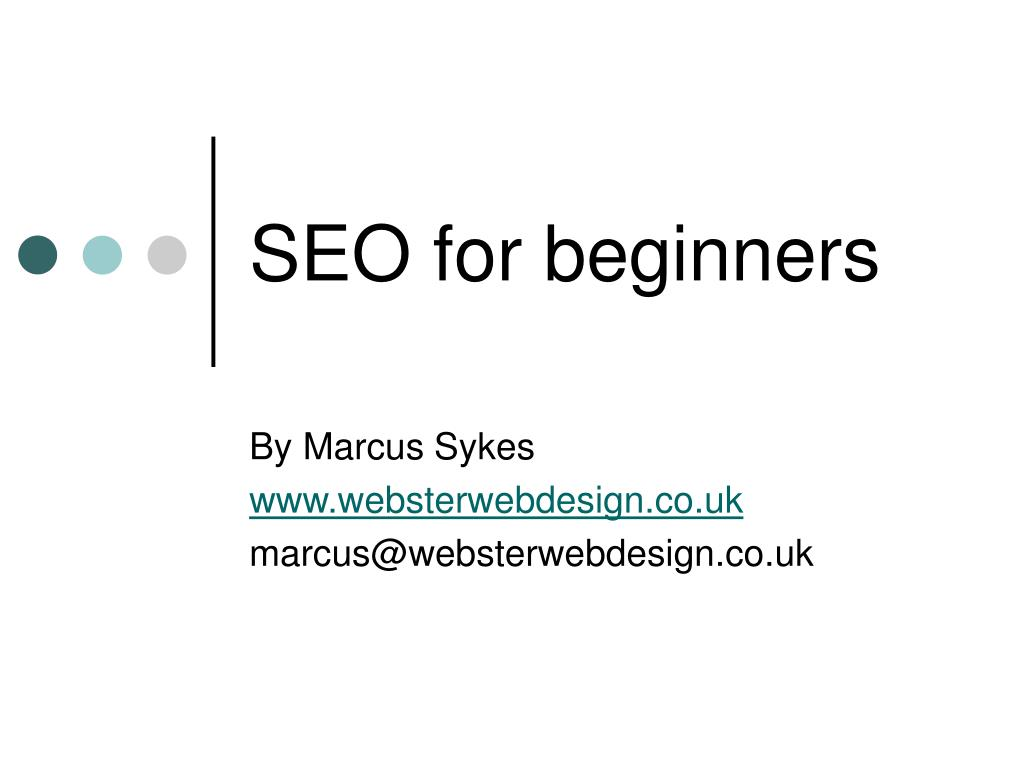 seo for beginners l.