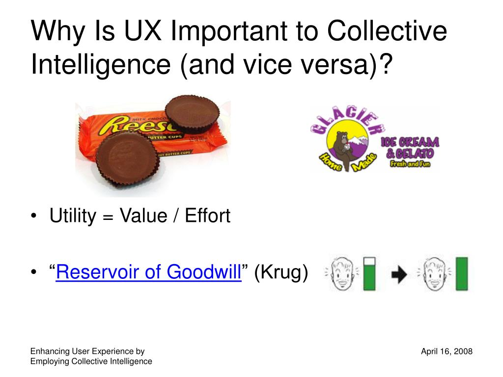 Why Is UX Important to Collective Intelligence (and vice versa)?