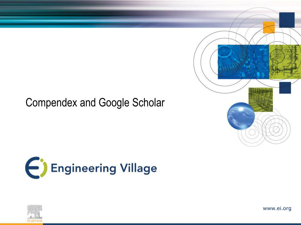 compendex and google scholar l.