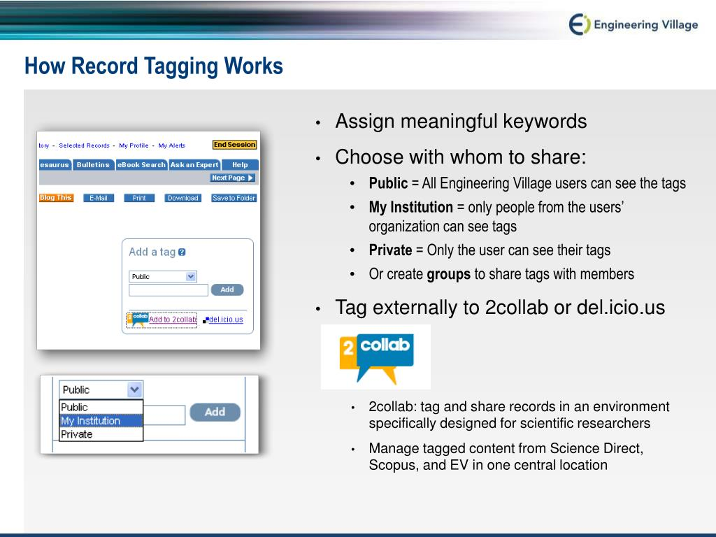 How Record Tagging Works