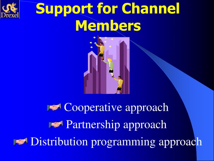 Support for Channel Members