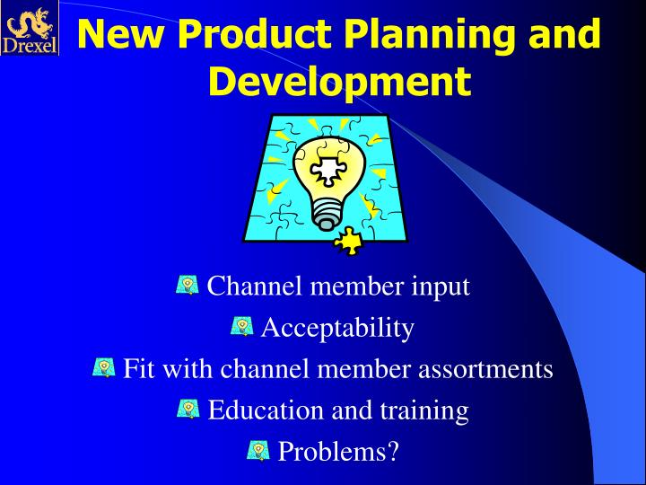 New Product Planning and Development