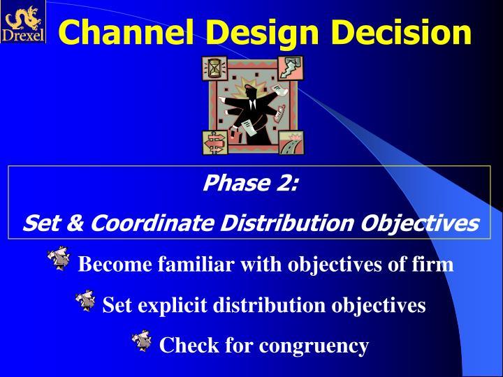 Channel Design Decision