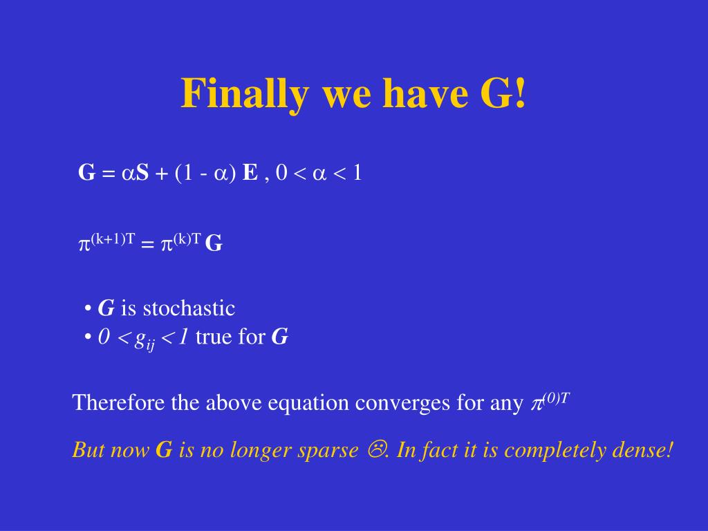 Finally we have G!